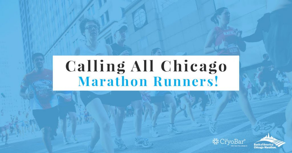 Need to Recover from the Chicago Marathon?